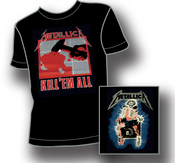 T-SHIRT - BLACK, KILL EM ALL