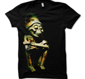 ENTOMBED - T-SHIRT, TO RIDE - STATUE (BLACK)