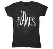 N FLAMES - GIRLIE, SCRATCH LOGO JESTERHEAD
