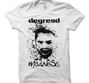 DEGREED - T-SHIRT, MADNESS (VIT)