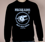 WATAIN - SWEATSHIRT, BLACK METAL MILITIA
