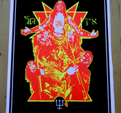 WATAIN - POSTER, AS BELOW SO ABOVE BLACKLIGHT