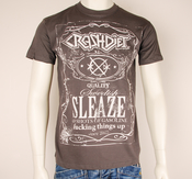 CRASHDIET - T-SHIRT, WHISKEY