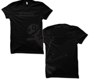 SPARZANZA - T-SHIRT, VOODOO (BLACK ON BLACK)