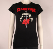 RAUBTIER - LADY T-SHIRT, HJRTEBLOD