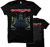 EUROPE - T-SHIRT, 1ST ALBUM 30TH ANNIVERSARY TOUR