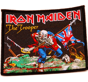 IRON MAIDEN - PATCH, THE TROOPER