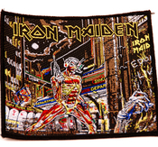 IRON MAIDEN - PATCH, SOMEWHERE IN TIME