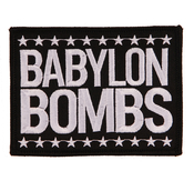 BABYLON BOMBS - PATCH, LOGO