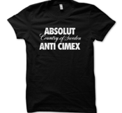 ANTI-CIMEX - T-SHIRT, ABSOLUT
