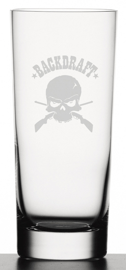 BACKDRAFT - DRINK GLASSES
